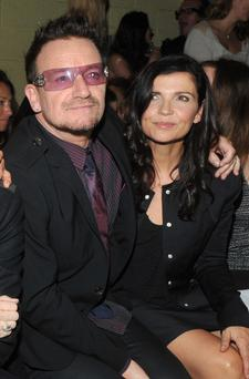 Bono and Alison Hewson. Photo: AP