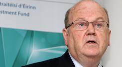 Finance Minister Michael Noonan will have to be aware of a prowling bear market