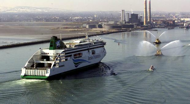 Irish Ferries ship Ulysses taken out of service due to 'technical issue'
