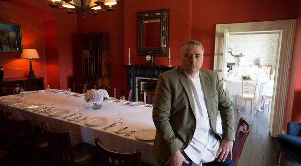Celebrity chef Richard Corrigan said he anticipated start-up losses at his Cavan operation