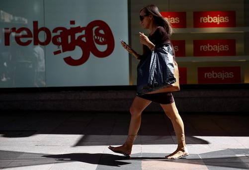 Retail rebounds in Spain