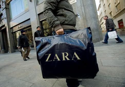 Zara's Irish business saw profits rise sharply