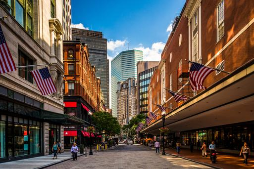 The store will open in Downtown Crossing in Boston