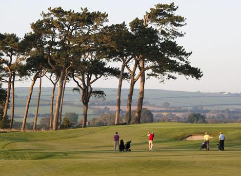 The five-star Fota Island Resort in Cork hosted the Irish Open in 2002, 2003 and again last year
