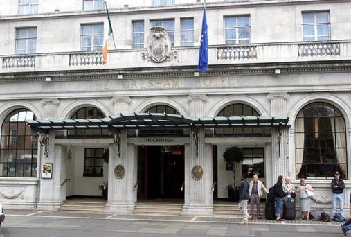 The 301-room hotel, which dates back to the early 1800s, is expected to be put up for sale by NAMA next month