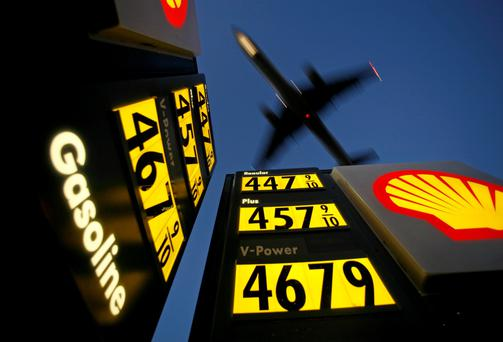 Oil prices have continued a downward slide