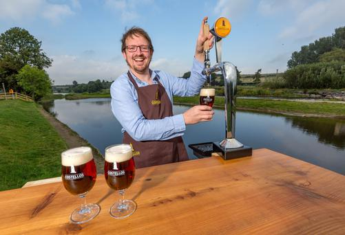 Gerard Costello beside the River Nore in Thomastown, Co Kilkenny. Photo: Dylan Vaughan