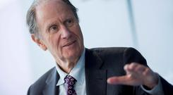Chairman David Bonderman yesterday gave a view about US services which contradicted past statements by Michael O'Leary on the transatlantic sector