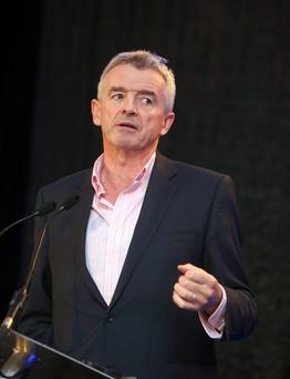 Ryanair chief Michael O'Leary. Photo: Damien Eagers