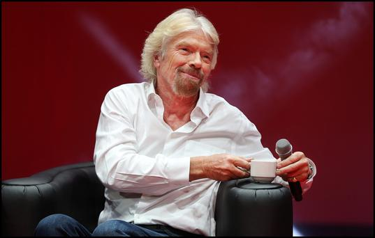 'Virgin survived 50 years because we were always able to reinvent ourselves,' says Richard Branson