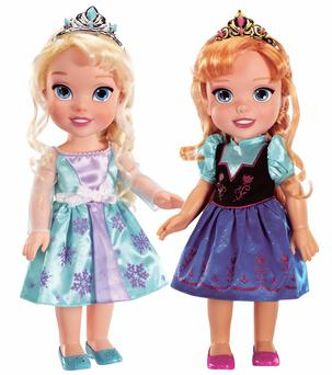 'Frozen' movie dolls are a popular choice for children