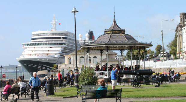 Queen Elizabeth in Cobh