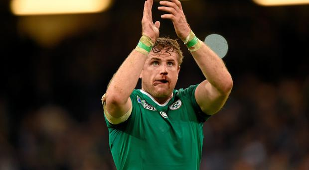 Jamie Heaslip - the Rugby World Cup has helped increase passenger numbers at Dublin Airport.