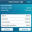 Bank of Ireland mobile app