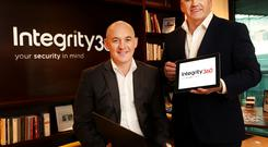 Sean Gallagher with Eoin Goulding of Integrity 360