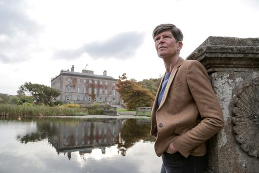 Uncertain future: Sheelyn Browne at Westport House.