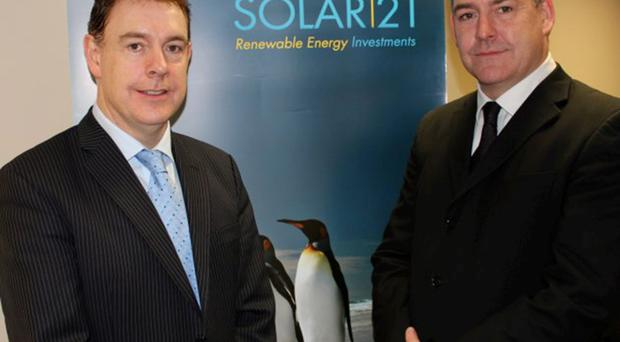 Solar21 CEO Michael Bradley and CFO Andrew Bradley have big plans for renewable energies