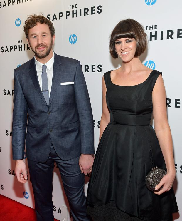 Chris O'Dowd and Dawn Porter. Photo: Getty Images
