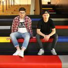 Simon Bastable and Brendan Ennis of fashion startup Bloq