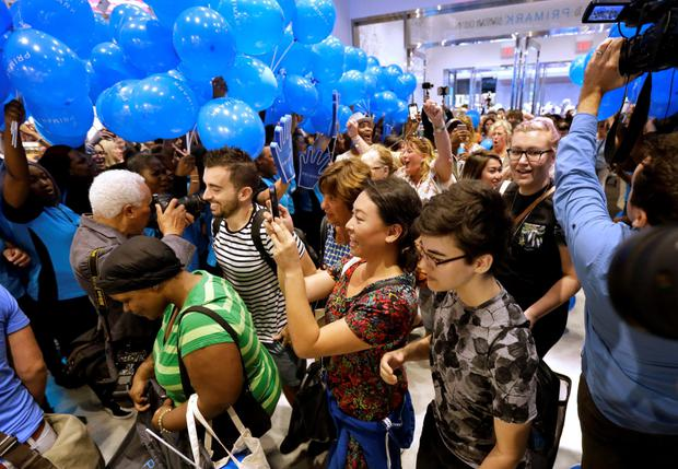 Primark opened its first US location in Boston at the former site of the original Filene's Basement. Photo: AP