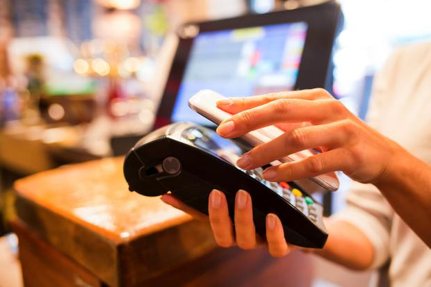Till the end: Phone payment apps are becoming increasingly common.
