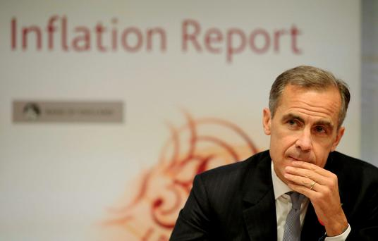 Bank of England Governor Mark Carney. Photo: Reuters