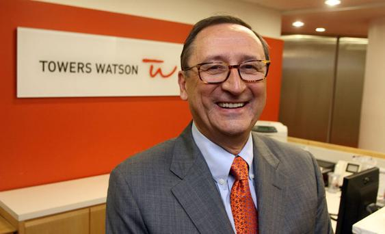 Towers Watson chief executive John Haley