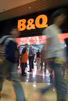 Kingfisher owns the retailer B&Q