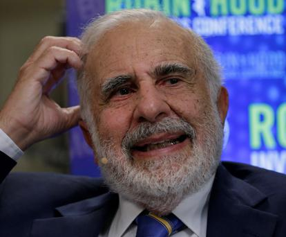 Billionaire activist investor Carl Icahn. Photo: Bloomberg