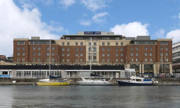The Jurys Inn Custom House hotel will be a Hilton Garden Inn