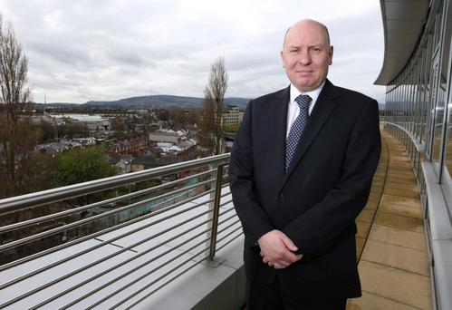 Fintan Slye, Chief Executive of Eirgrid. Picture credit; Damien Eagers 7/4/2014