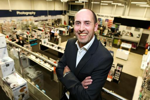 Manchester-raised Mark Slater, the head of the Dixons Carphone Ireland business. Photo: Maxwells, Dublin