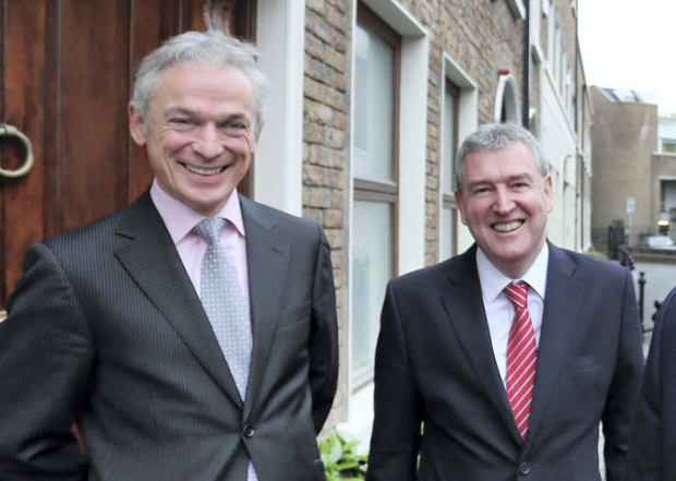 EI's Kevin Sherry pictured with Jobs Minister Richard Bruton