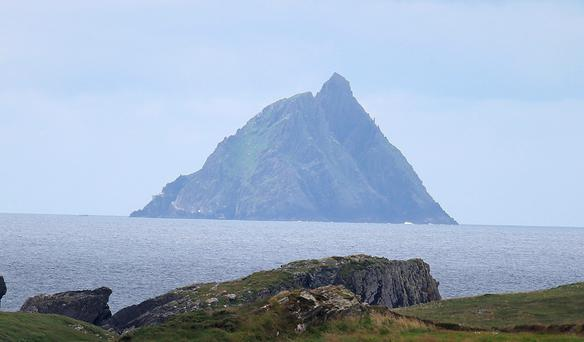 Kerry's Skellig Michael will feature in the much-anticipated new 'Star Wars' movie, but we're still not a big player on our own planet. Photo: Damien Eagers