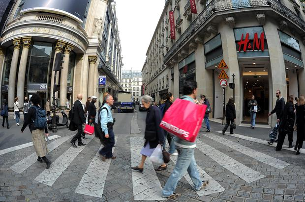 A H&M store in the French capital. Its chief executive is among the industry leaders looking for real change