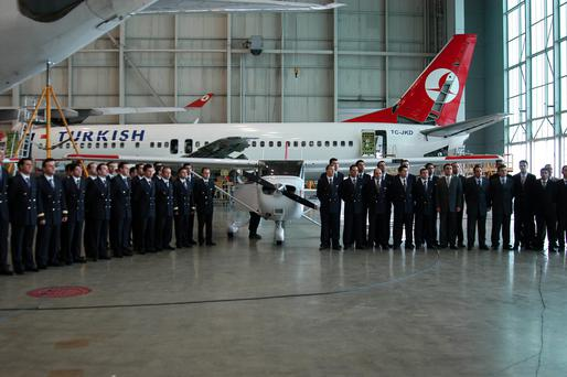 Turkish Airlines is a member of the global Star Alliance group