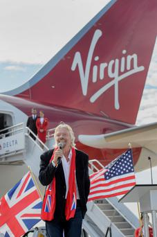 Virgin Atlantic, majority owned by billionaire Richard Branson. Photo: Michael A. Schwarz/Bloomberg