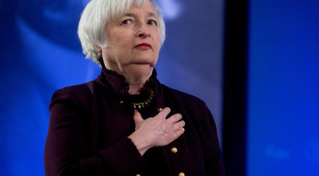 Janet Yellen, chair of the US Federal Reserve