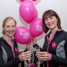 Ailish Cleary (37), right, with The Bump Rooms business partner Caitriona Quinn