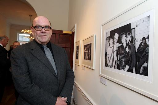 Paul McGuinness, who was U2 manager for more than 30 years. Photo: Arthur Carron/ Collins