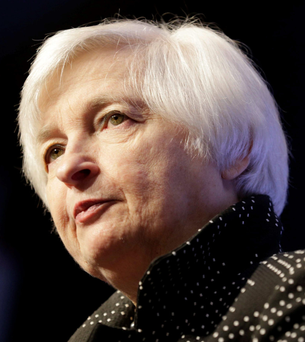 Janet Yellen, chief of the US Federal Reserve, had telegraphed the central bank's move for months Photo: Reuters/Joshua Roberts