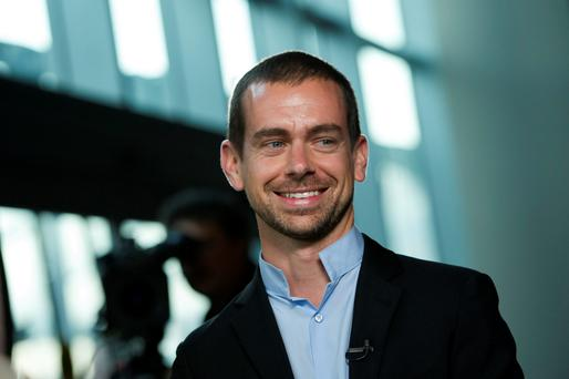 Twitter Chairman Jack Dorsey. Photo: Bloomberg