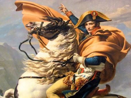 NAPOLEON'S DICTUM: 'I have plenty of clever generals - but just give me a lucky one.'