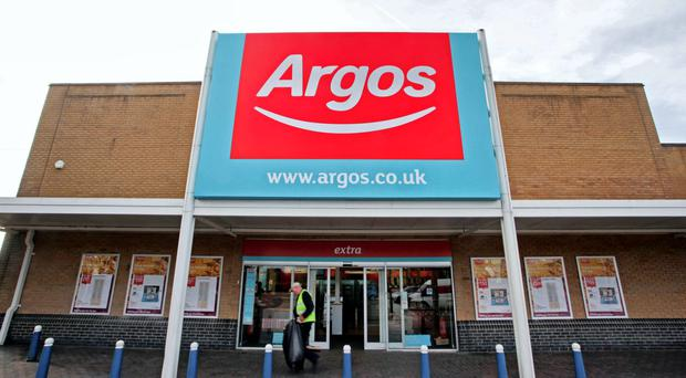 There are Argos and Homebase stores across the island of Ireland