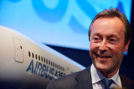 Airbus CEO Fabrice Bregier. Photo: AFP/Getty Images