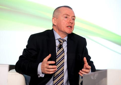 IAG chief executive Willie Walsh at the Airline Economics Growth Frontiers Dublin 2016 conference in Dublin. Photo Peter Houlihan / Fennell Photography