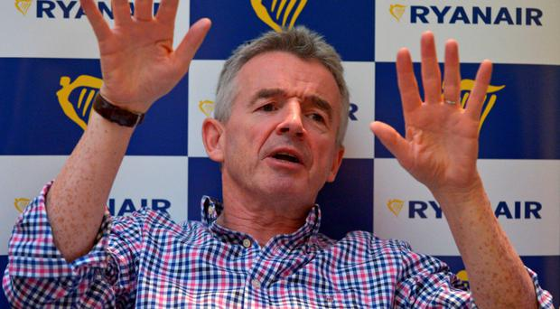 Ryanair CEO Michael O'Leary. Photo: AFP/Getty Images