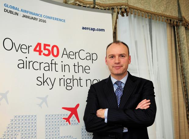 Aengus Kelly, chief executive officer of AerCap. Photo: Aidan Crawley/Bloomberg
