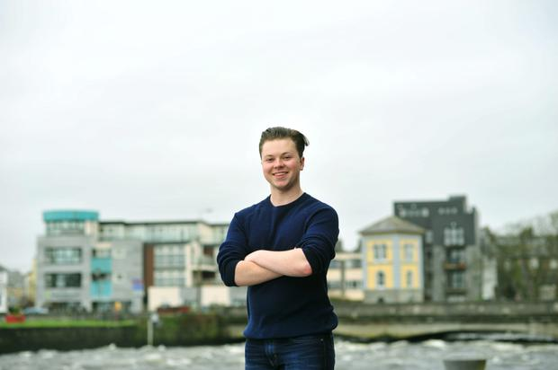 Conor O'Flaherty, founder of Pursue