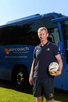 Transport operators Aircoach are official suppliers to Leo Cullen's Leinster team